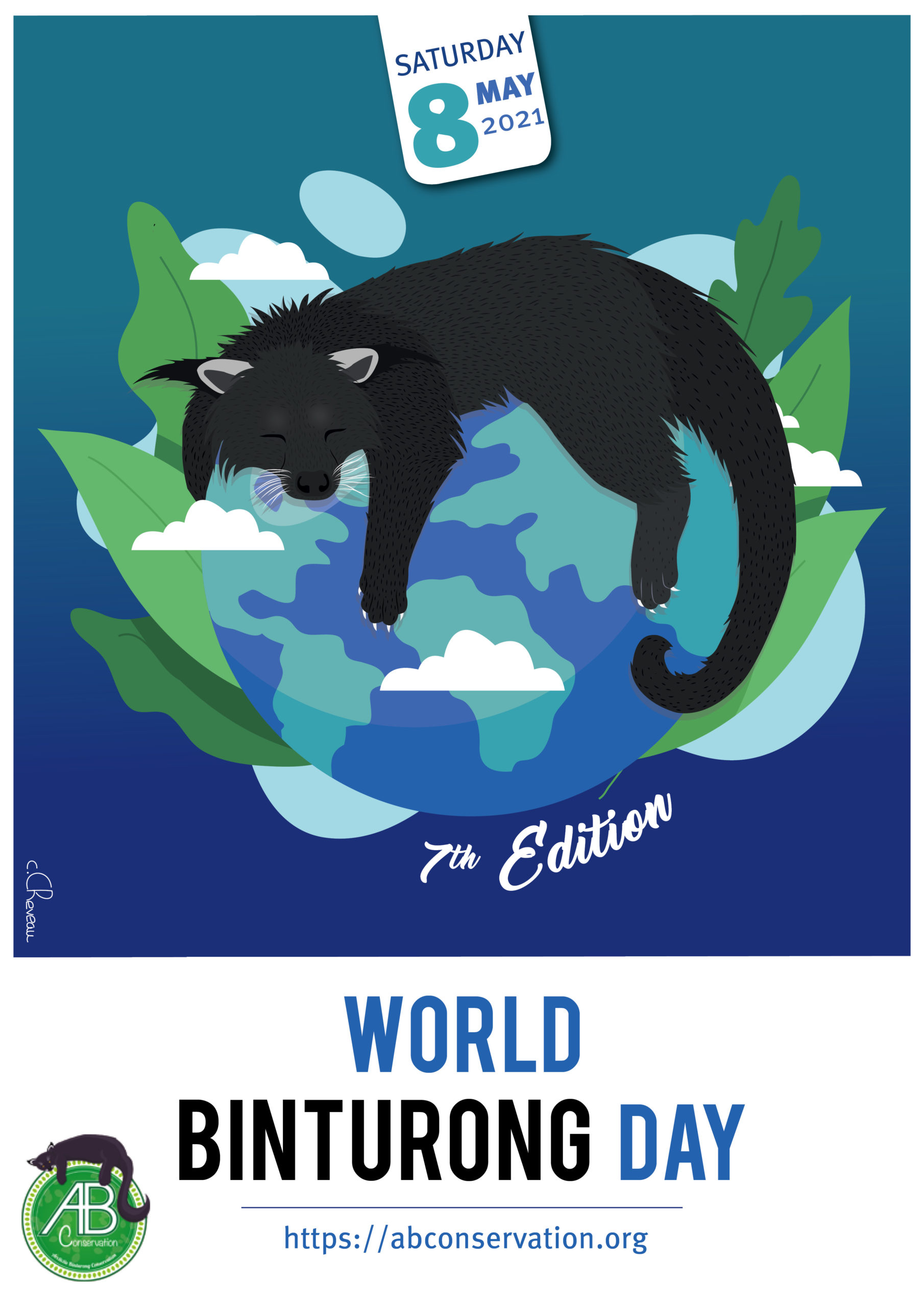 Affiche Officielle World Binturong Day 2021